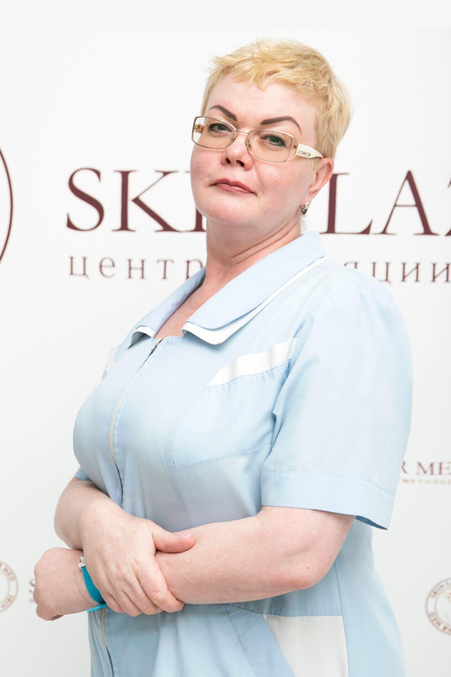 Качан Марина Владимировна, массажист