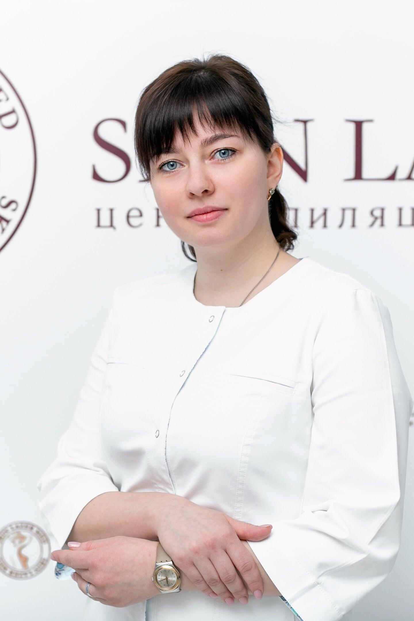 Минина Инна Сергеевна, врач дерматовенеролог, косметолог.