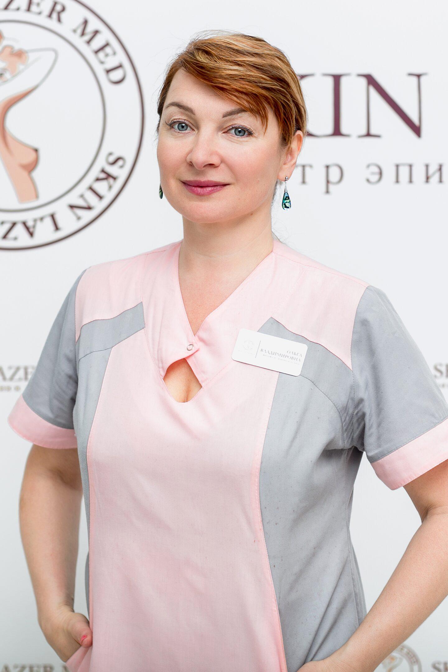 Хомусько Ольга Владимировна, массажист