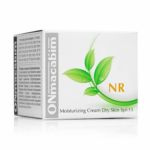 NR Увлажняющий крем для нормальной и сухой кожи spf-15 ONmacabim